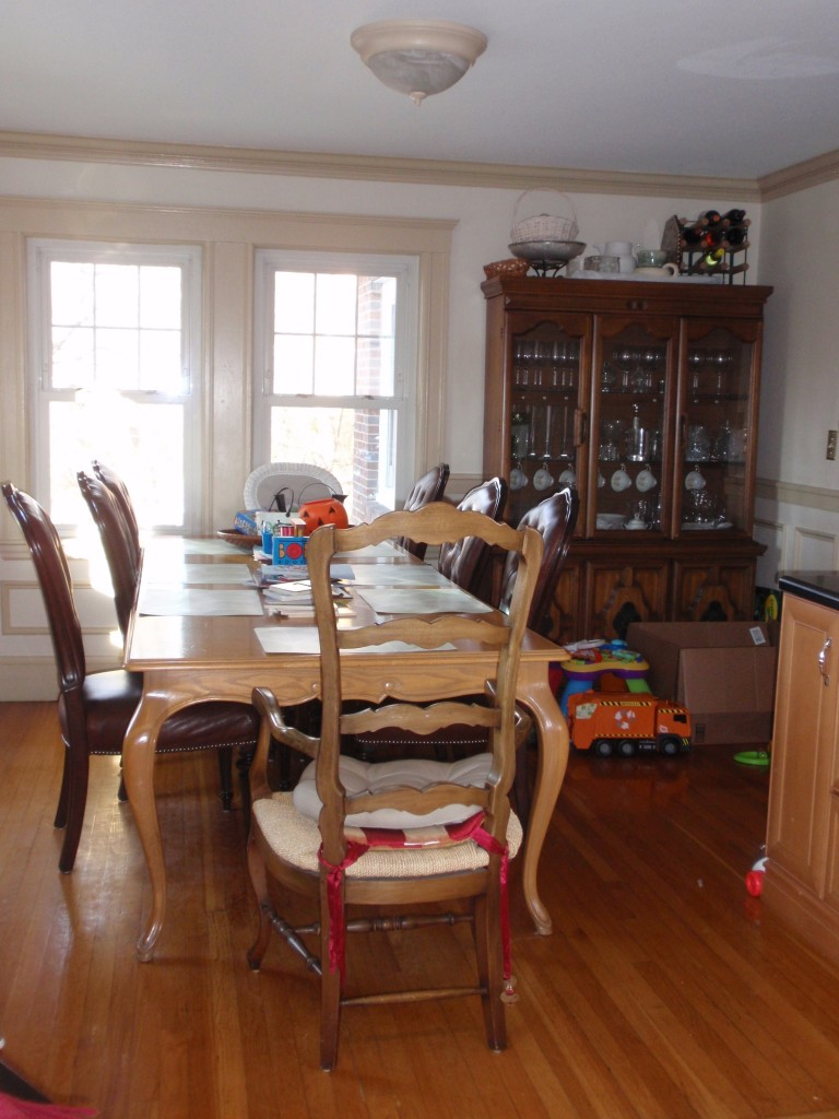 Dining Room - Before 1