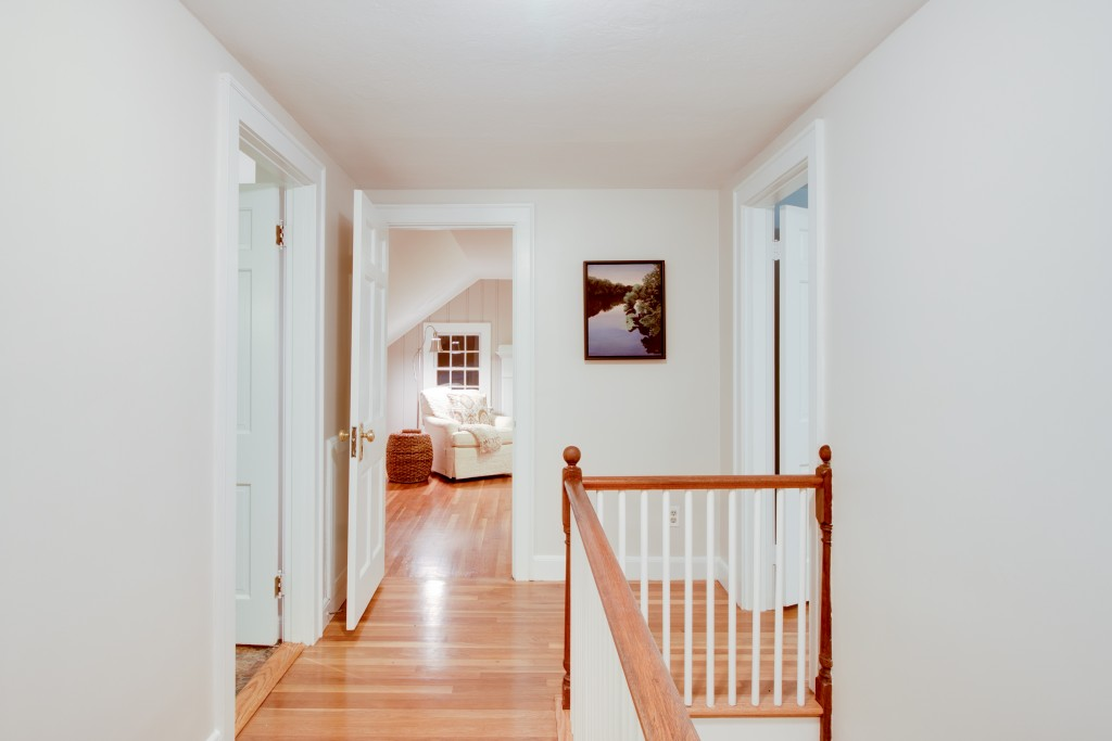 2nd Floor Hallway to Fireplace Room